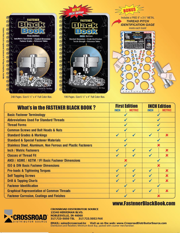 Black Book Engineering Handbook Outline